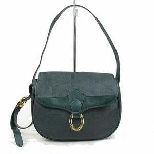Dior Green Leather Classic Flap 870730